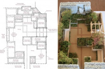 Design layout to take advantage of all the space in the garden